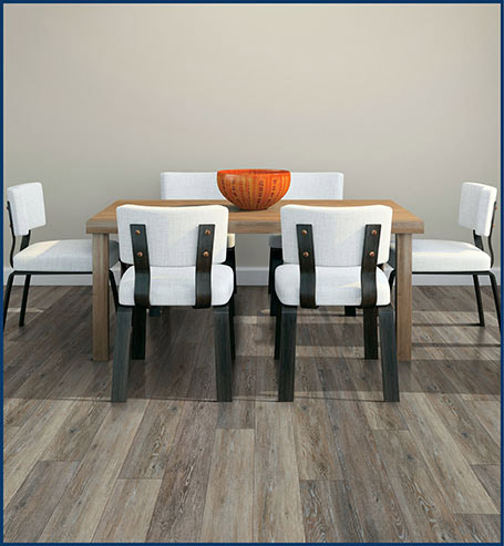 COREtec floors are durable, easy to maintain, waterproof and are great for any space